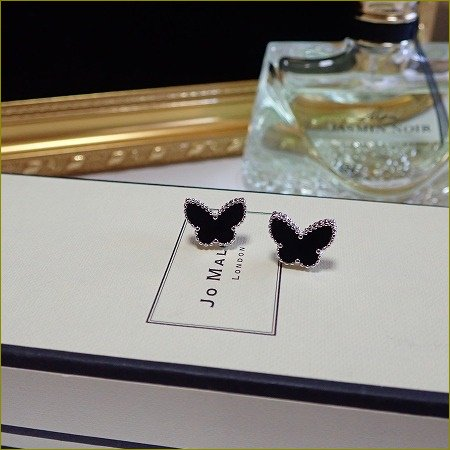 Onyx papillon pierce(シルバー)