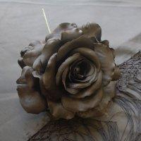14cm薔薇 ブラック