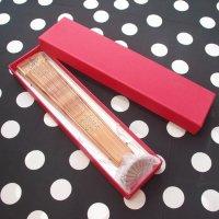 アバニコケース(箱)6.5×3×27cm  ダークレッド