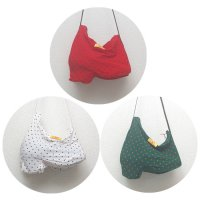 全3色 フラメンコシューズ バッグ ストレッチ素材 DOTS