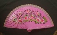 ミニアバニコ  19cm AS1714 両面花柄ペイント ピンク