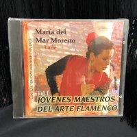JOVENES MAESTROS DEL ARTE FLAMENCO Maria del Mar Moreno vol.1 CD