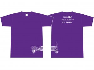 【DL-AP04-PU】Re-R HYBRID Tシャツ (紫)