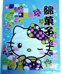#50 綿菓子袋・着物キティ・ブルー(100枚)