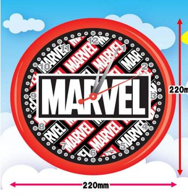 <img class='new_mark_img1' src='https://img.shop-pro.jp/img/new/icons33.gif' style='border:none;display:inline;margin:0px;padding:0px;width:auto;' />#1000 MARVEL・ウォールクロック(1コ)