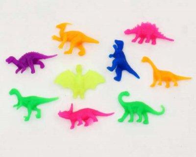 #15 やわらかミニ恐竜(100コ)