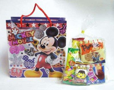 #150 駄菓子 詰め合わせ ディズニーギフトバッグ (1コ)