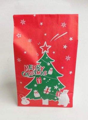 #250 駄菓子詰合せ・クリスマス(ツリー)袋入り
