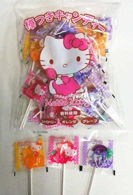 #650 キティ 棒つきキャンディ・約45本入