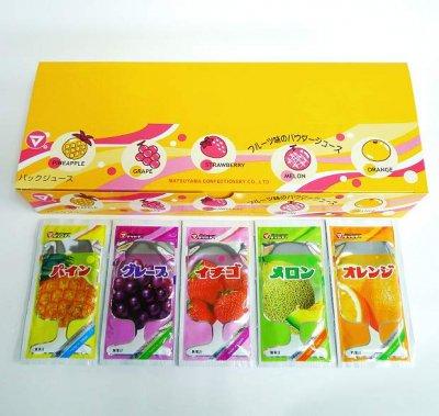 #20 粉末ジュース・5色フルーツ(50コ)