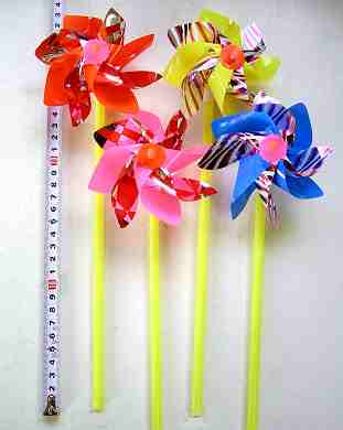 #70 パイプ風車 (60本)