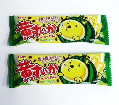 #30 マルカワ・黄すいかガム(20コ)