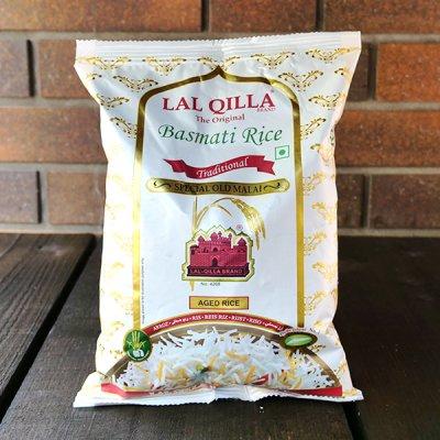 バスマティライス  『LAL QILLA』 Basmati Rice (1Kg)