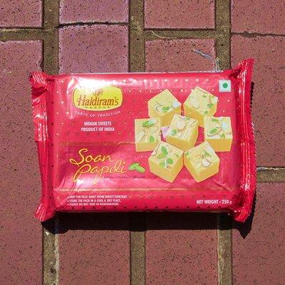 ソーンパプディ【Haldiram's】Soan Papdi (250g)