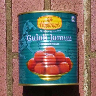 グラブジャムン Gulab Jamun 【Haldiram's】(1Kg)