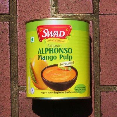 マンゴーパルプ Mango Pulp【SWAD】(850g)