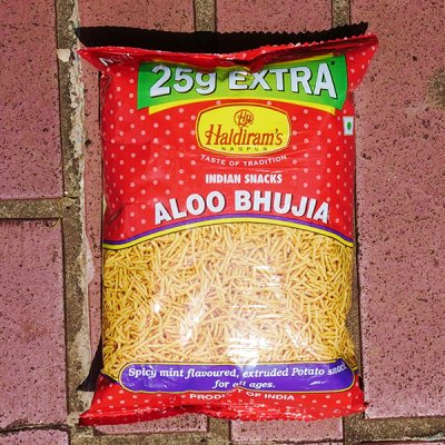アルーブジア【Haldiram's】ALOO BHUJIA (150g)