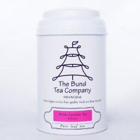 【高級ジャスミン茶】ホワイトジャスミンティー (希少なホワイトティー使用・リーフ)