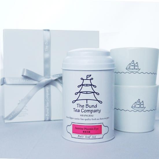 【ジャスミン茶&タンブラー】ジャスミンフェニックスアイコレクション(箱入りギフト)