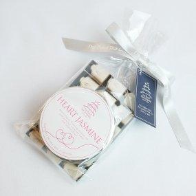 【香り咲く工芸茶】ハートジャスミン(ハートの形をしたジャスミン茶)