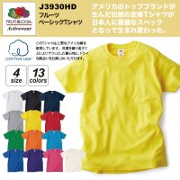 フルーツ ベーシックTシャツ#J3930HD fruit og the loom S M L XL 半袖 綿 無地 メンズ