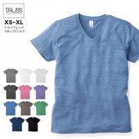 トライブレンド VネックTシャツ#TBV-129 S~XL フェリック メンズ 無地