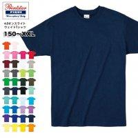 4.0オンス ライトウェイトTシャツ|プリントスター Printstar #00083-BBT