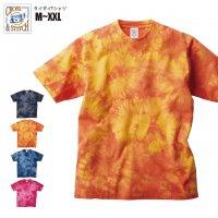 タイダイTシャツ#TDT-148 M,L,XL,XXL CROSS & STITCH メンズ