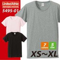 4.7オンス ファインジャージーTシャツ#5495-01 ユナイテッドアスレ UNITED ATHLE