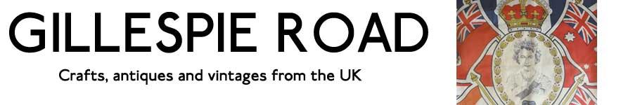:UK雑貨店 GILLESPIE ROAD: イギリス雑貨 ハンドメイド&アンティーク/ヴィンテージ&ロイヤル