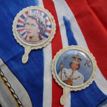 エリザベス女王戴冠式記念 ハンドミラー2種