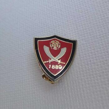 シェフィールドユナイテッド Sheffield United ヴィンテージ ピンバッジ