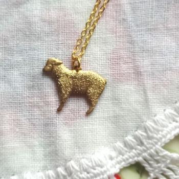 Custom Made 子羊ちゃんネックレス