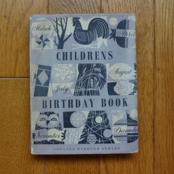 Children's Birthday Book バースデーブック