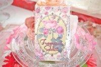 可愛いイエローパッケージ フレグランスサシェ(香り袋) バラ