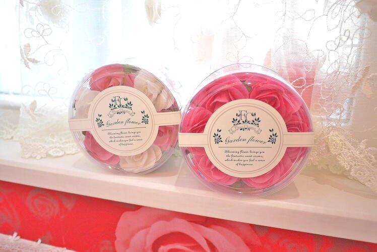 バラの形が可愛い♪ローズの香りに包まれます♪プチフルール