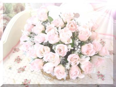 バラ造花 水滴 ローズ バット