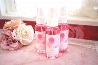 可愛いピンクのフレグランスミスト♪華やかローズの香り