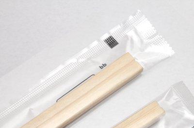 透明OPP包装箸*お箸がよく見えて安心!*場所を選ばないデザイン*楊枝入り*