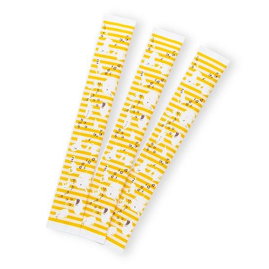こども用6寸どうぶつ柄C*清潔で安心!手になじむ短いサイズです☆
