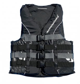 <img class='new_mark_img1' src='//img.shop-pro.jp/img/new/icons14.gif' style='border:none;display:inline;margin:0px;padding:0px;width:auto;' />quakysense M's 4BUCKLE LIFE VEST(USCG/JCI認定)