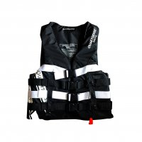 ★FOR MEN/WOMEN★quakysense YOLO 4BUCKLE LIFE VEST (USCG/JCI認定品)