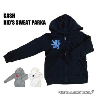 GASH KID'S SWEAT PARKA [受注生産]