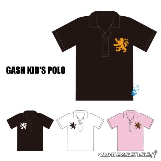 <img class='new_mark_img1' src='//img.shop-pro.jp/img/new/icons1.gif' style='border:none;display:inline;margin:0px;padding:0px;width:auto;' />GASH KID'S POLO (受注生産)