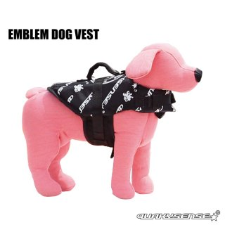 <img class='new_mark_img1' src='https://img.shop-pro.jp/img/new/icons1.gif' style='border:none;display:inline;margin:0px;padding:0px;width:auto;' />EMBLEM DOG VEST