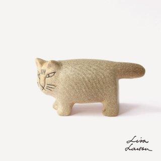 LISA LARSON リサラーソン 陶器  ふたごの猫 兄のグレー