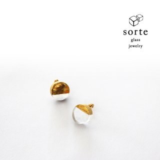 sorte glass jewelry ピアス
