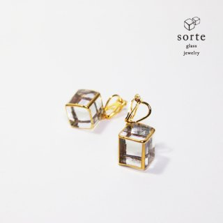 sorte glass jewelry イヤリング