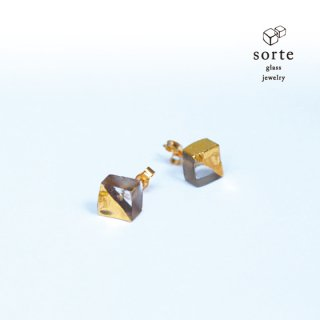 sorte glass jewelry lotta限定 ピアス
