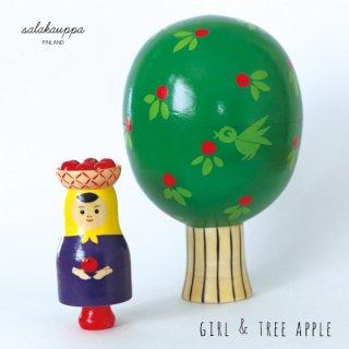 Girl & Tree Apple Matryoshka COMPANY カンパニー フィンランド